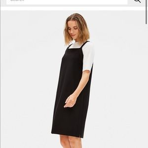 Eileen Fisher Dresses - Eileen Fisher washable stretch crepe jumper dress